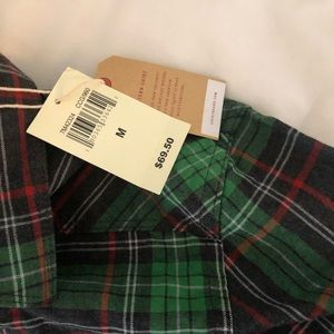 NWT Lucky brand long sleeve button down
